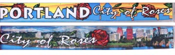 Oregon, city of roses