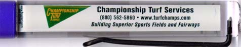 Championship Turf Services - backside panel