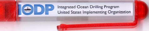Integrated Ocean Drilling Program - backside panel