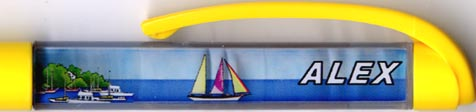 Sailboat - backside panel