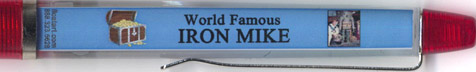 World Famous Iron Mike - backside panel