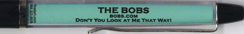 The Bobs - backside panel