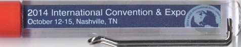 National Funeral Directors Association - 2014 Convention & Expo - backside panel