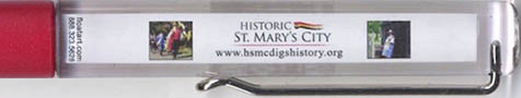 Historic St. Mary's City - backside panel