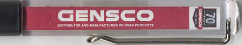 Gensco - backside panel