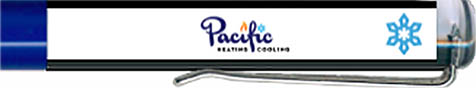 Pacific Heating & Cooling - backside panel
