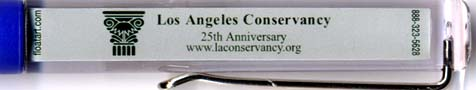 L.A. Conservancy - backside panel